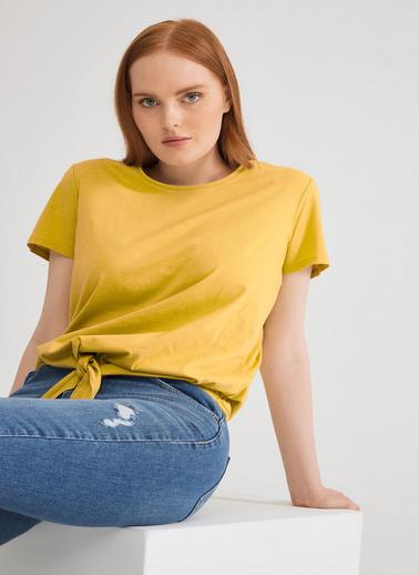 Love My Body Tişört Sarı
